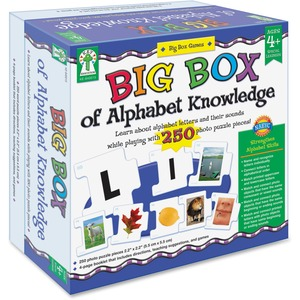Carson Dellosa Education Big Box of Alphabet Knowledge Board Game