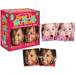Carson-Dellosa PreK-Grade 4 How Do You Feel Board Game