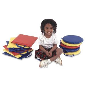 Children's Factory Soft Foam Square Sit Upons Set