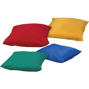 Children's Factory Foam-filled Square Floor Pillow