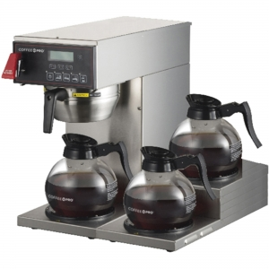 Coffee Pro 3-burner Commercial Brewer Coffee