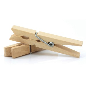 Creativity Street Natural Spring Clothespins