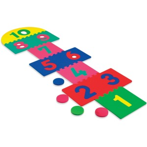 Creativity Street Wonderfoam Hop Scotch Foam Mat