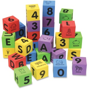 Creativity Street WonderFoam Number/Letter Blocks Set