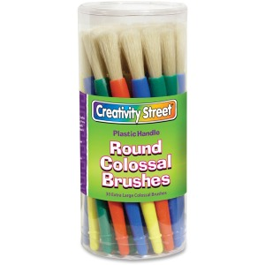 Creativity Street Colossal XL Paint Brushes Canister