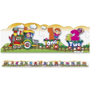 Creativity Street Number Train Floor Puzzle