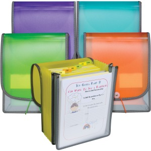 C-Line 7-pocket Vertical Backpack File
