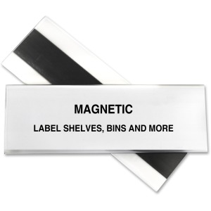 C-Line HOL-DEX Magnetic Shelf/Bin Label Holders