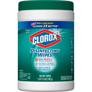 Clorox Bleach-Free Scented Disinfecting Wipes