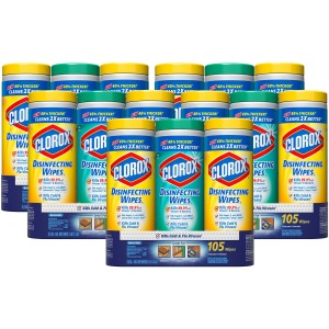 Clorox Bleach-Free Disinfecting Wipes Value Pack