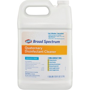 Clorox Healthcare Broad Spectrum Quaternary Disinfect Cleaner