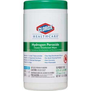 Clorox Healthcare Hydrogen Peroxide Disinfecting Wipes