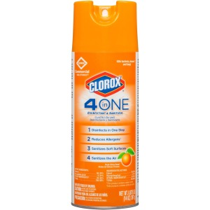 Clorox Commercial Solutions 4-in-One Disinfectant and Sanitizer