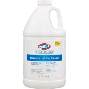 Clorox Healthcare Bleach Germicidal Cleaner Gallon
