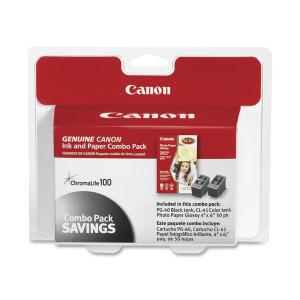 Canon PG-40/CL-41 Print Cartridge/Paper Kit