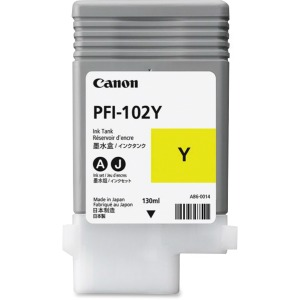 Canon PFI-102Y Original Ink Cartridge