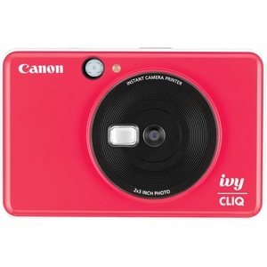Canon IVY CLIQ+ 5 Megapixel Instant Digital Camera - Red