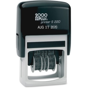 COSCO 6-Year Band Self-Inking Dater