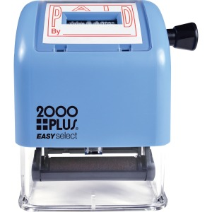 Consolidated Stamp 2000 Plus Self-inking Date Stamp
