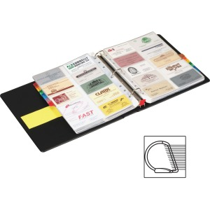 Cardinal EasyOpen Card File Binder