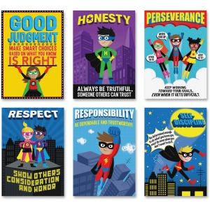 Creative Teaching Press Superhero InspireU Posters