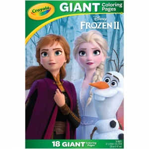 Crayola Disney's Frozen 2 Giant Coloring Pages