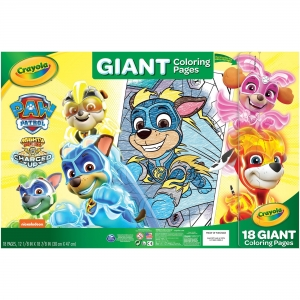 Crayola Nickelodeon's Paw Patrol Giant Pages