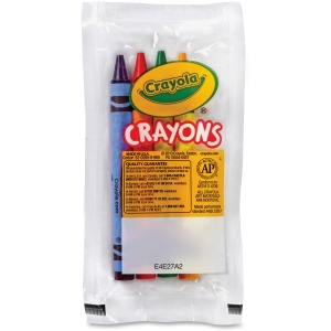 Crayola Set of Four Regular Size Crayons in Pouch