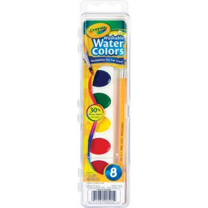 Crayola 8 Count Washable Watercolor Set