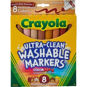 Crayola Multicultural Washable Markers