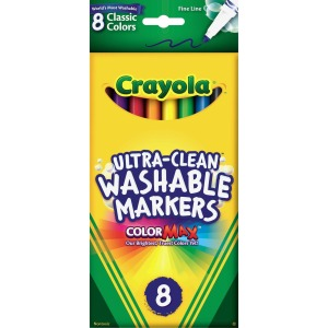Crayola Thinline Washable Markers