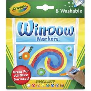 Crayola Washable Window Markers