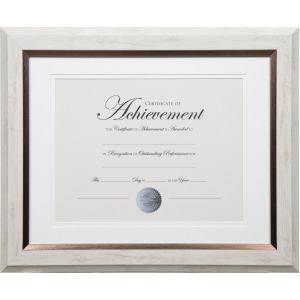 Dax 2-tone Bronze Document Frame