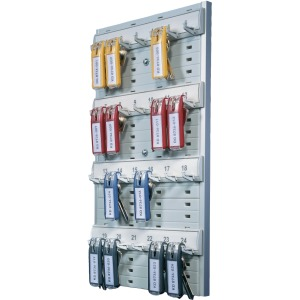 DURABLE® Open 24-Key Rack