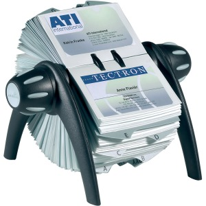 DURABLE® VISIFIX® Flip Business Card File