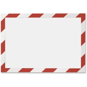 DURABLE® DURAFRAME® SECURITY Self-Adhesive Magnetic Letter Sign Holder