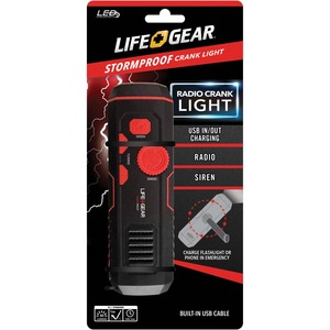 Life+Gear Stormproof Crank Light