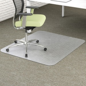deflecto PET Rectangular EnvironMat Chairmat