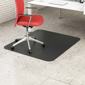 deflecto Classic Black Hard Floor Chairmat