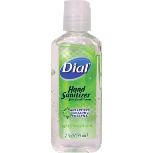 Dial Fliptop Hand Sanitizer