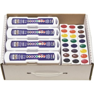 Prang Oval Watercolor Master Pack