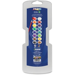 Dixon 16 Oval Semi-Moist Watercolors
