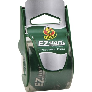 Duck Brand EZ Start Carton Packaging Tape with Disp.