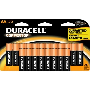 Duracell Coppertop Alkaline AA Battery - MN1500