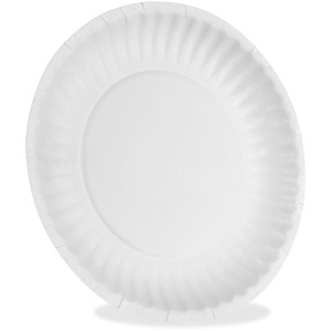Dixie Uncoated Economical Paper Plates