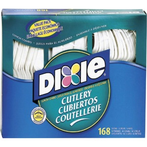 Dixie Heavy-duty Plastic Cutlery