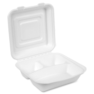Dixie EcoSmart 3-compartment Container