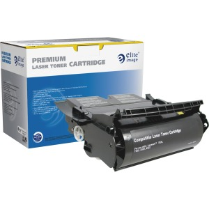 Elite Image Remanufactured Toner Cartridge - Alternative for Lexmark (12A6835)