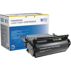 Elite Image Remanufactured Toner Cartridge - Alternative for Lexmark (12A6865)
