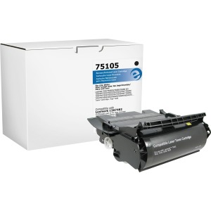 Elite Image Remanufactured Toner Cartridge - Alternative for Lexmark (12A7462)